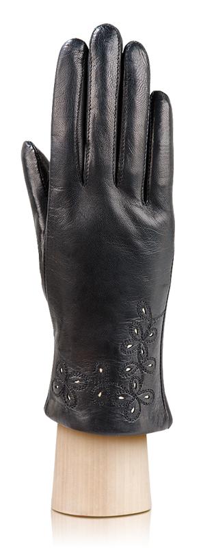 Женские перчатки Anyday классического черного цвета выполнены из...