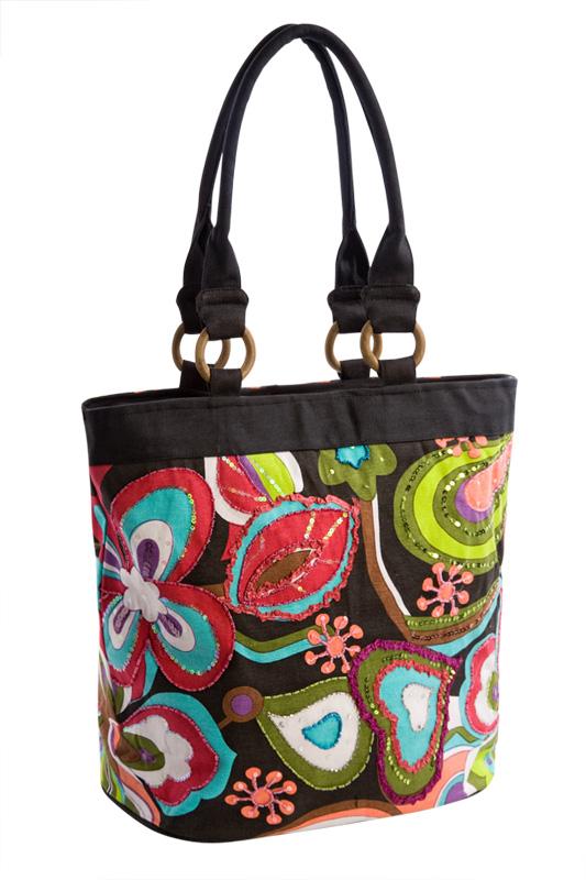 Описание: выкройки женской сумки через плечо.