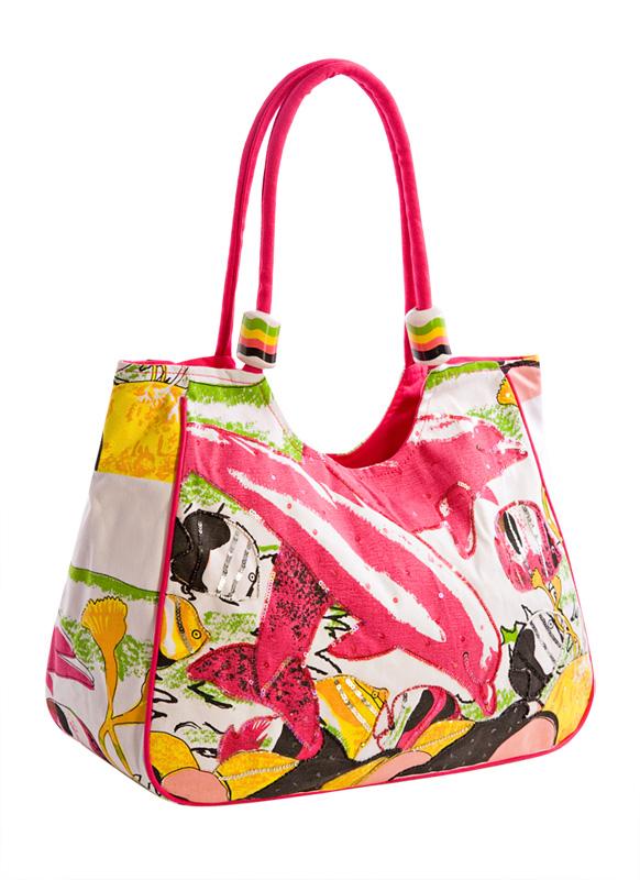 Торговая марка Collage Сумка из ткани Артикул BM-3154-15 Цвет фуксия Материал верха текстиль Вес изделия