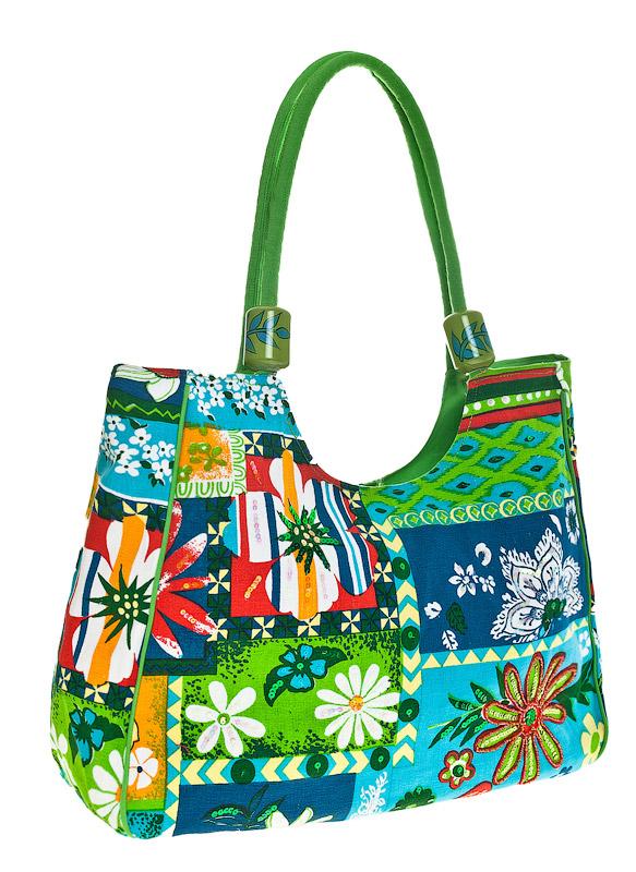 Торговая марка Collage Сумка летняя Артикул BM-3154-12 Цвет зеленый Материал верха текстиль Вес изделия 350 грамм