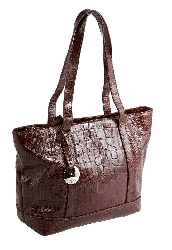 Женская сумка Palio коричневого цвета, выполненная из натуральной...