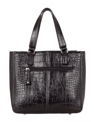 Женская сумка Palio выполнена из натуральной кожи черного цвета с...