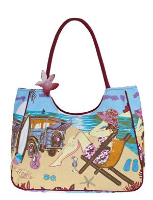 Сумка C-3154-31 black.  Индийские пляжные сумки Collage.  Каталог.