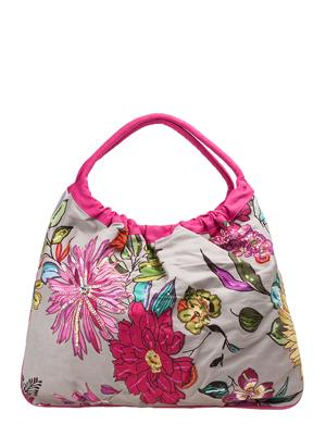 Сумка C-6043 d.grey.  Индийские пляжные сумки Collage.  Каталог.