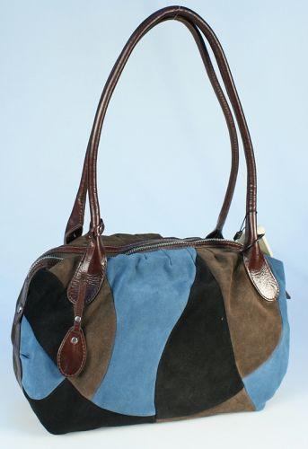 Артикул.  Женская сумка PALIO из натуральной разноцветной кожи.