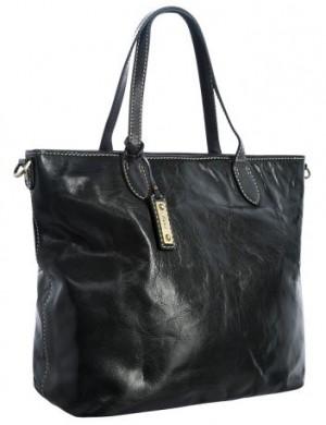 Женская сумка Palio серо-зеленого цвета, выполненная из натуральной...