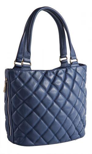 пристраиваю синюю сумку.