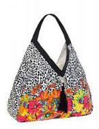 Легкая сумка Collage оригинальной треугольной формы, выполненная из...