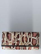 Женская сумка - клатч Eleganzza из искусственной кожи серо-коричневого...